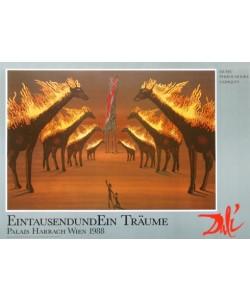 Salvador Dali, Burning Giraffes