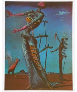Salvador Dali, Die brennende Giraffe - 1935