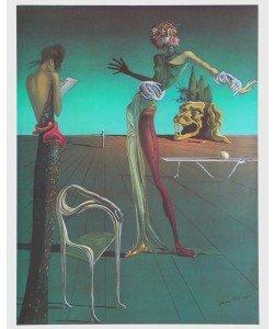 Salvador Dali, Die Frau mit dem Rosenkopf, 1935
