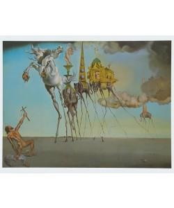 Salvador Dali, Die Versuchung des Heiligen Antonius - 1946