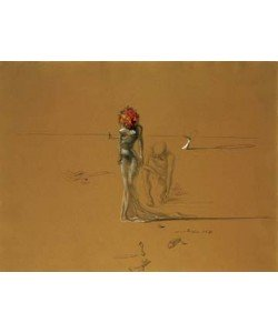 Salvador Dali, Female with Head of Flowers