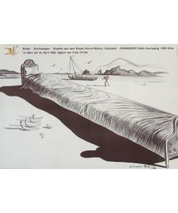 Salvador Dali, Langes Bett