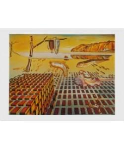 Salvador Dali, The Desintegration of the Persistence of Memory