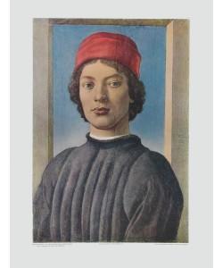 Sandro Botticelli, Bildnis eines jungen Mannes