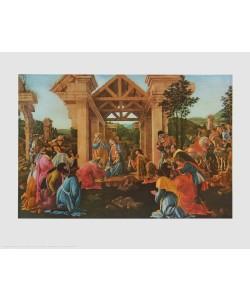 Sandro Botticelli, Die Anbetung der Heiligen Drei Könige