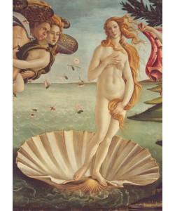 Sandro Botticelli, Geburt der Venus (Detail)