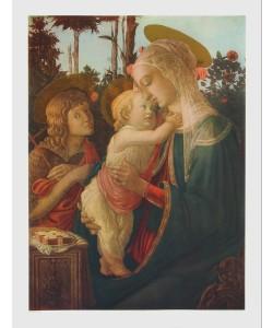 Sandro Botticelli, Madonna mit jesus und Johannes