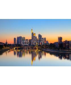 sborisov, Frankfurt am Main at dusk