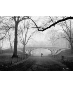 Henri Silberman, Gothic Bridge, Central Park NYC