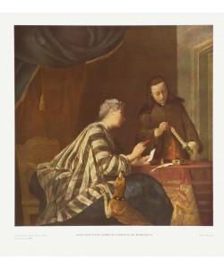 Simeon Chardin, Die Briefsieglerin