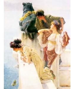 Lawrence Alma-Tadema, A Coign of Vantage