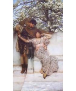 Lawrence Alma-Tadema, Frühlings-Versprechen, 1890