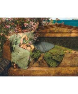 Lawrence Alma-Tadema, Im Rosengarten