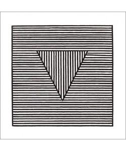 Sol Lewitt, Triangle, 1980 (Büttenpapier)