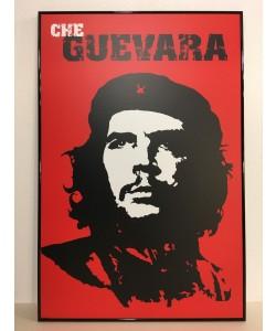 Bild mit Rahmen, Unbekannt, Che Guevara, Alu schwarz