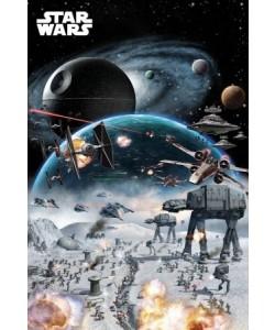 Leinwandbild, Unbekannt, STAR WARS - Battle