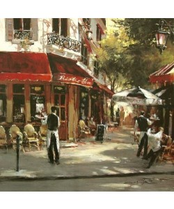 Leinwandbild, Heighton Brent, Bistro Waiters