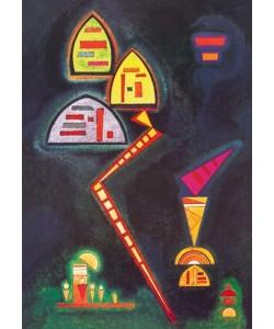Leinwandbild, Wassily Kandinsky, Grün