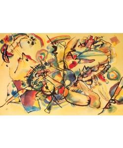Leinwandbild, Wassily Kandinsky, Composition 1917, Speditionsversand-siehe Lieferdetails