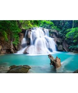 Alu-Dibond Bild, calcassa, Huay Mae Kamin Waterfall