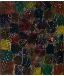 Leinwandbild, Paul Klee, Kosmische Komposition, 1919
