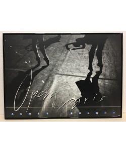 Gerahmtes Bild, Aluminium schwarz glänzend, Folie, Agnes Bonnot, Opera de Paris