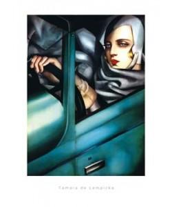 Tamara De Lempicka, Self Portrait