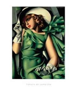Tamara De Lempicka, Young Lady with Gloves