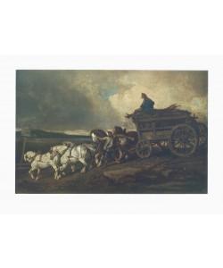 Théodore Géricault, Der Kohlenwagen