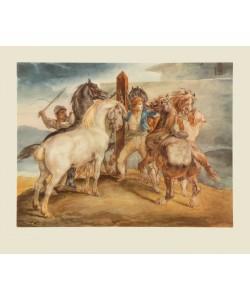 Théodore Géricault, Pferdemarkt