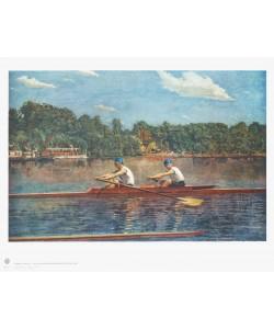Thomas Eakins, Die Biglin-Brüder beim Regattabeginn