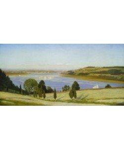 Thomas Charles Farrer, Buchweizenfeld auf der Thomas-Coles-Farm, 1863