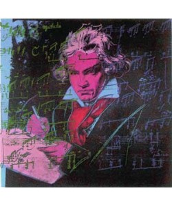 Andy Warhol, Beethoven red