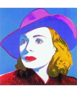 Andy Warhol, Ingrid Bergmann with Hat