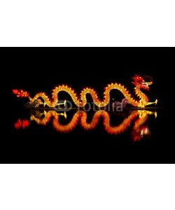 toa555, Chinese Dragon Lantern on pond