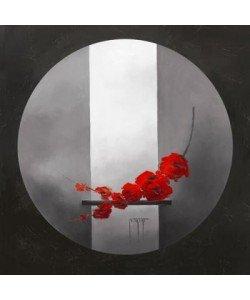 Bernadette TRIKI, Fleurs rouges