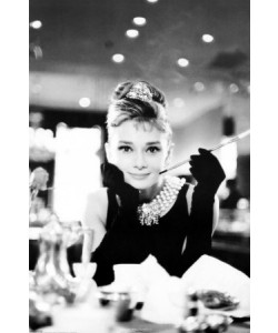 Leinwandbild Unbekannt, Audrey Hepburn