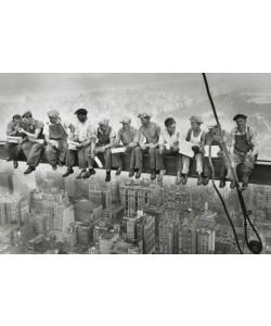 Leinwandbild, Unbekannt, Manhattan Steelworkers