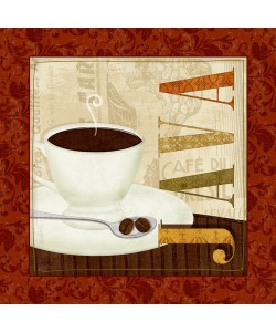 Leinwandbild Veronique Charron, Coffee Cup I