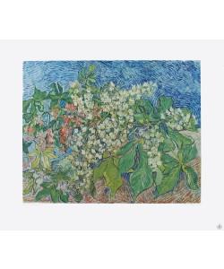 Vincent van Gogh, Blühender Kastanienzweig (Kupfertiefdruck)
