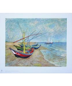 Vincent van Gogh, Boote von St-Maries, 1888