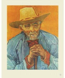 Vincent van Gogh, Der Bauer (Kupfertiefdruck)