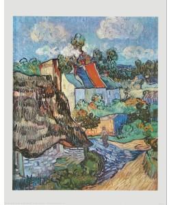 Vincent van Gogh, Häuserzeile in Auvers