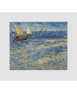 Vincent van Gogh, Meer bei St-Maries (Bütten) (Büttenpapier)