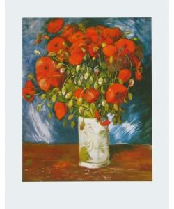 Vincent van Gogh, Mohnblumen - 1886