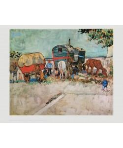 Vincent van Gogh, Rast der Zigeuner