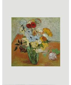 Vincent van Gogh, Rosen und Anemonen