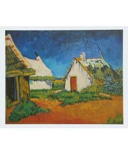 Vincent van Gogh, Weißes Landhaus in Saintes-Maries - 1888