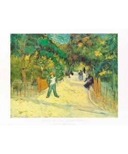 Vincent van Gogh, Giardini publici