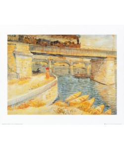 Vincent van Gogh, Il ponte di Asnieres